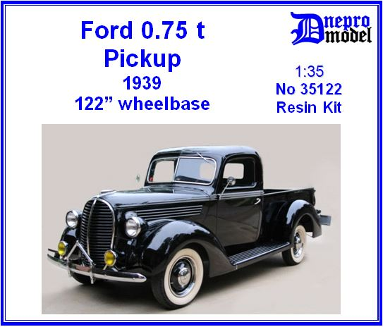 Nouveautés DNEPROMODEL - Page 2 Ford_1939_pickup_3-quarter_ton_82d_model