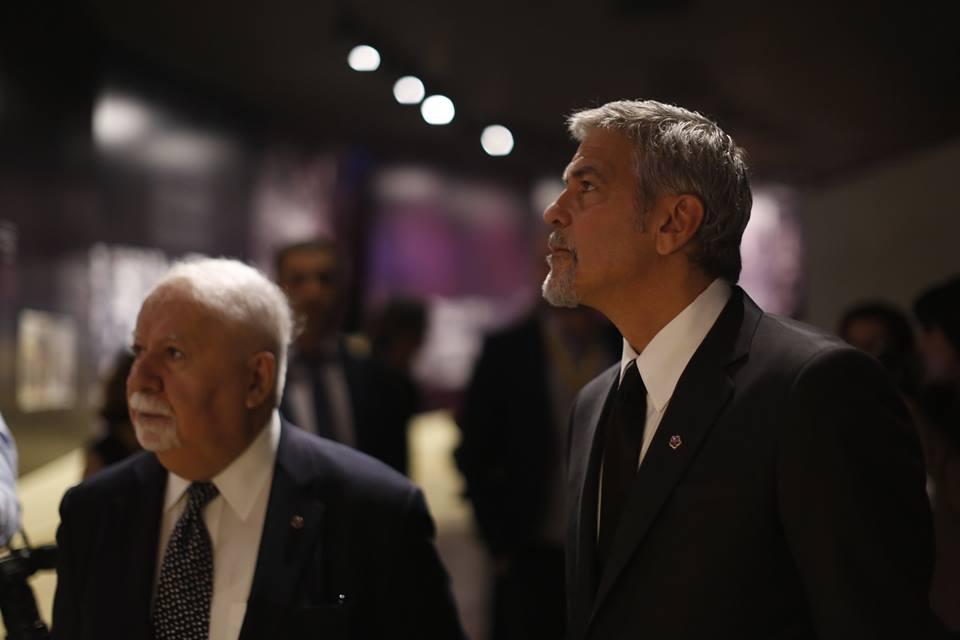 George Clooney visits Armenian Genocide Museum Aurora-Genocide-Museum