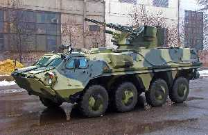 EJERCITO DE INDONESIA BTR-4_with_Parus_RCWS-71235191486