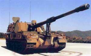 ثمرة التعاون الصناعى العسكرى المصرى الكورى الجنوبى ، تصنيع المدفع الكورى K-9 Thunder Aaa060501