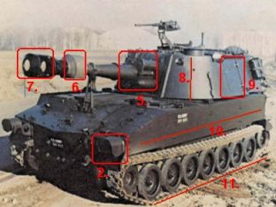 Armée belge vent des M-109 au Maroc - Page 6 M109_Details_Left_USA_01
