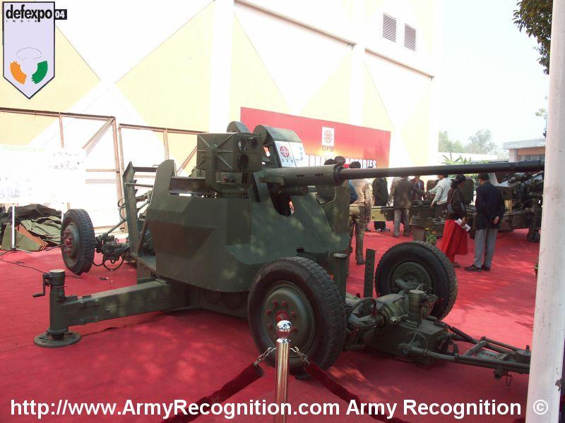 حقيقة الصناعات الايرانيه العسكرية وقدرة إيران العسكرية  Bofors_40mm_Upgrade_DefExpo_2004_India_01