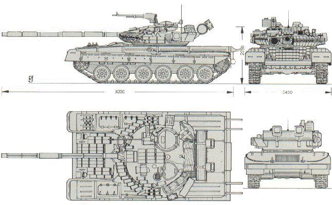 مواصفات العامة لT-80 T-80_Line_Drawing_Russia_01