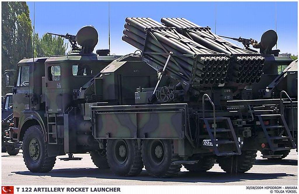 الراجمه T-122/300 اNRA من شركة Rokestan التركيه  T122_07