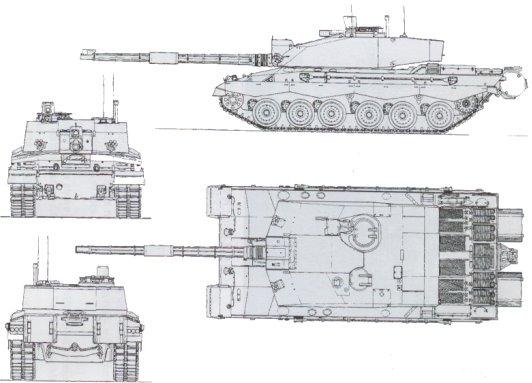 تصويت : افضل دبابة في العالم Challenger_2_Decoupe_Main_Battle_Tank_UK_British_01