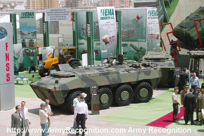 Armored Combat vehicules APC/IFV (blindés..) FNSS_Pars_8x8_Turkey_IDEF_2007_001
