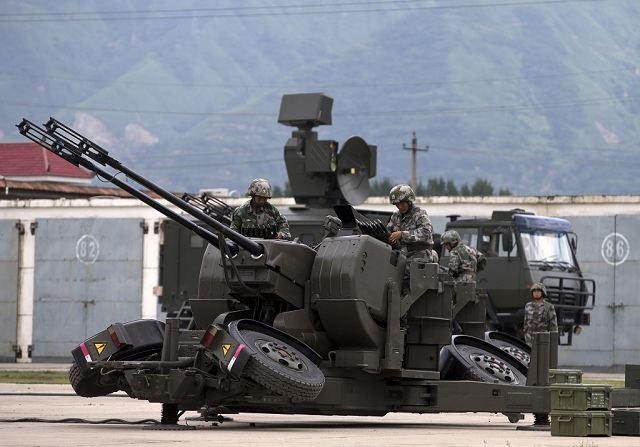 المغرب حصل على  نظام الدفاع الجوي القصير المدى TY-90 / DY-90 SHORAD Type_90_PG99_35mm_anti-aircraft_twin-gun_China_Chinese_army_defense_industry_military_technology_011