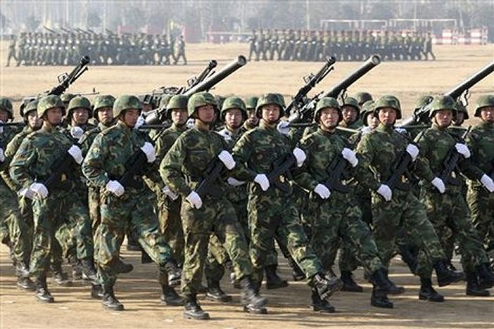 القوة العسكرية الصينية Chinese_soldiers_army_combat_field_uniforms_china_002