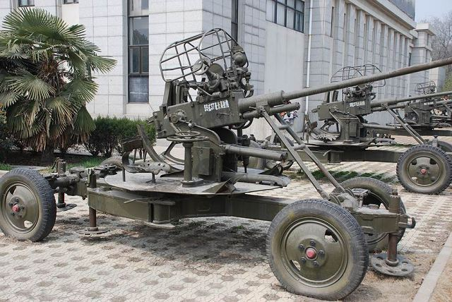 الدفاع الجوي التونسي : النقائص و الحلول Type_55_37mm_anti-aircraft_gun_China_Chinese_army_defence_industry_military_technology_640