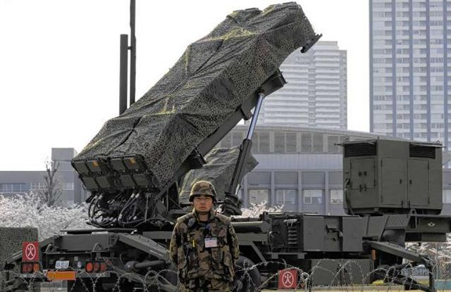 Japanese Army  Patriot_PAC-3_air_defence_missile_system_Japan_Japanese_army_002