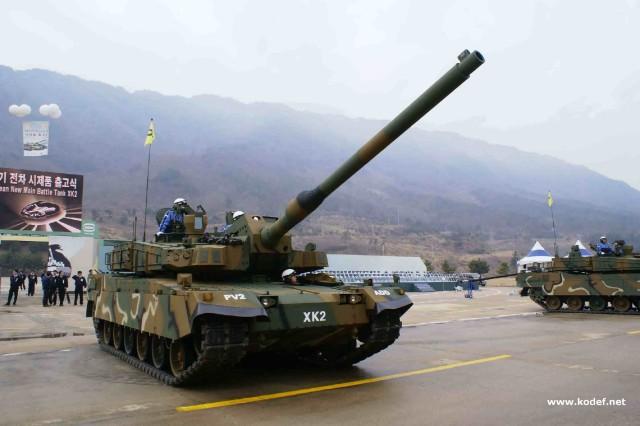 دبابة قتال رئيسية K2 Black Panther K2_Black_Panther_main_battle_tank_South_Korean_Army_South_Korea_012