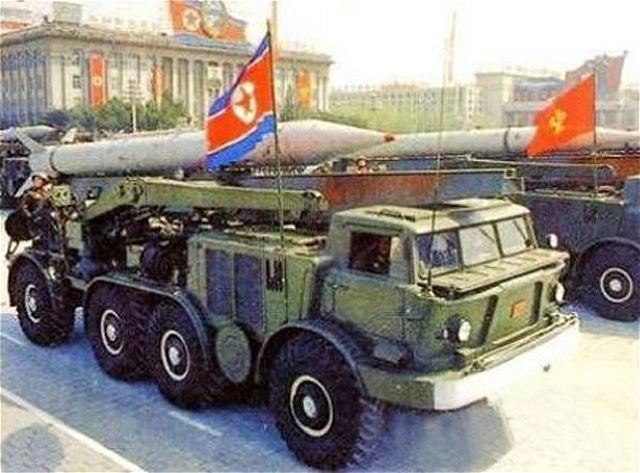 EJERCITO DE COREA DEL NORTE Frog-7_short-range_surface-to-surface_ballistic_missile_North_Korea_Korean_army_640_001