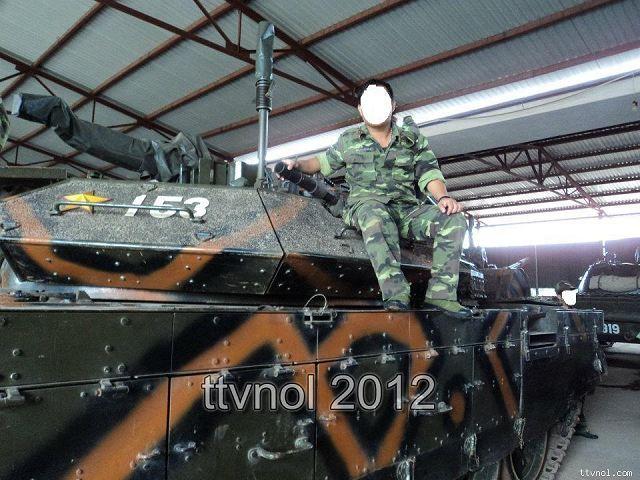 اسرائيل تطور دبابات فييتنام نوع T-55 الى نسخة متطوره تدعى T-55M3 T-54_T-55M3_main_battle_tank_Vietnam_Vietnamese_army_003