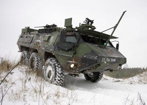 موضوع شامل عن الجيش الهولندي Sisu_XA-188_wheeled-armoured_vehicle_personnel_carrier_Estonia_Estonian_army_001