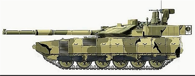 EJERCITO RUSO - Página 2 Armata_main_battle_tank_Russia_Russian_defence_industry_military_technology_line_drawing_001