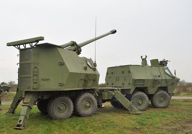 مدفعية الميدان المتحركة نورا Nora_B-52_M03_K-I_155mm_8x8_truck_mounted_artillery_system_howitzer_YugoImport_Serbia_Serbian_defense_industry_001