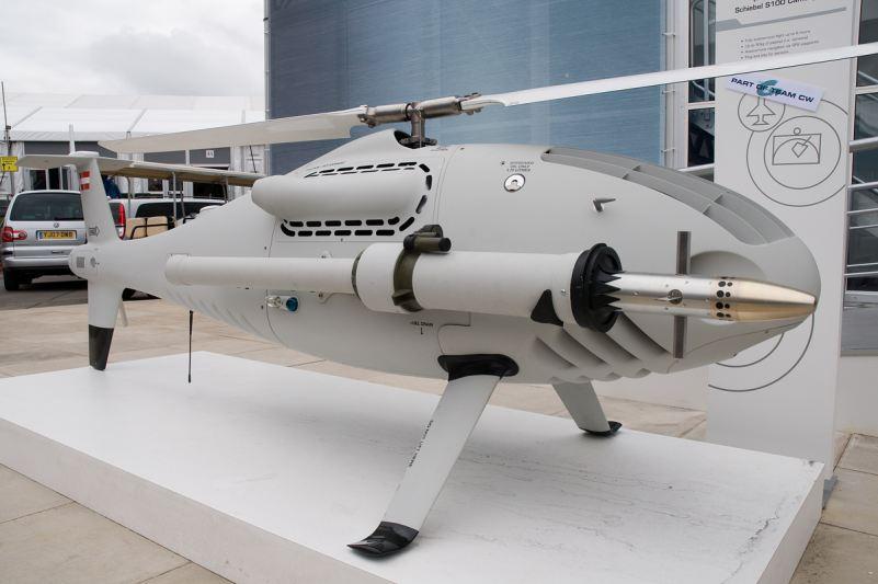 الطائرات بدون طيار فى سلاح الجو المصرى Camcopter_s-100_schiebel_UAV_helicopter_unmanned_aerial_vehicle_Austria_Austrian_001