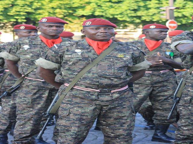 Forces Armées Togolaises / Togolese Armed Forces Togo_armee_togolaise_Togolese_army_France_French_14_july_juillet_2010_national_bastille_day_005
