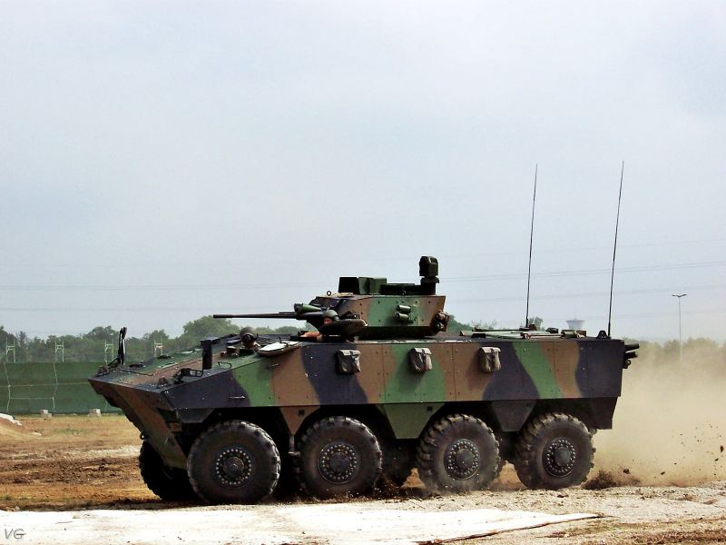 high tech CNC VBCI_nexter_wheeled_armoured_infantry_fighting_combat_vehicle_French_Army_France_002