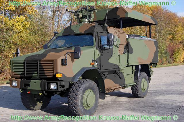 المدرعات المضادة للالغام   Aravis أو M-ATV Dingo_2_GSI_wheeled_armoured_battle_damage_repair_vehicle_Krauss-Maffei_Wegmann_German_army_Germany_640