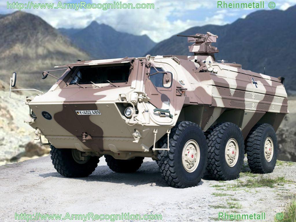 سياسة التسلح الجزائرية الحاضر والمستقبل   شامل (تم التجديد) - صفحة 3 Fuchs_1A8_new_fox_Rheinmetall_wheeled_armoured_vehicle_personnel_carrier_Germany_German_003