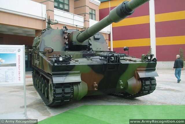 الهاوتزر التركي فيرتينا T-155_Firtina_155mm_tracked_self-propelled_howitzer_Turkey_Turkish_army_defence_industry_military_technology_003