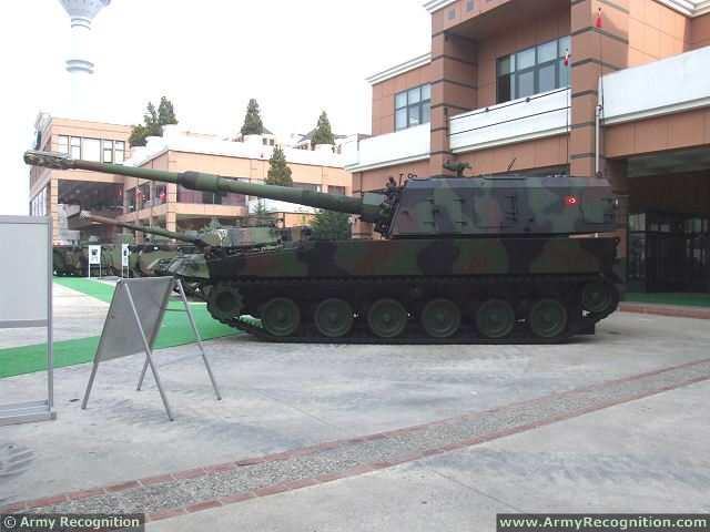 الهاوتزر التركي فيرتينا T-155_Firtina_155mm_tracked_self-propelled_howitzer_Turkey_Turkish_army_defence_industry_military_technology_008