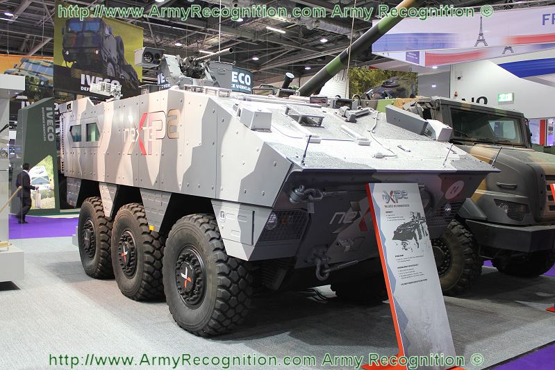 Meetings Internationaux - Page 5 XP2_Nexter_APC_technology_demonstrator_DSEI_2011_defence_security_equipment_exhibition_001