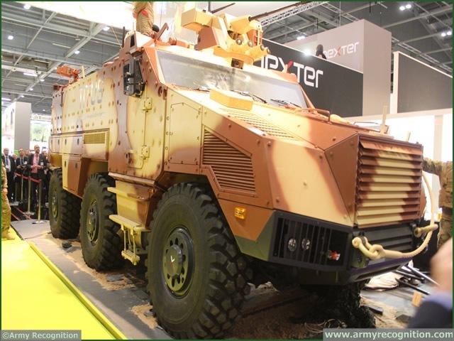مركبة نقل المشاة التكتيكية المدرعة تيتوس TITUS DSEI_titus_armoured_vehicle_1_Tactical%20Infantry_Transport_Utility_System_nexter