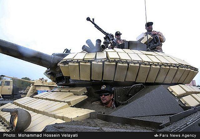 ايران تكشف عن دبابة جديدة  TIAM_main_battle_tank_Iran_Iranian_army_military_equipment_defense_industry_001
