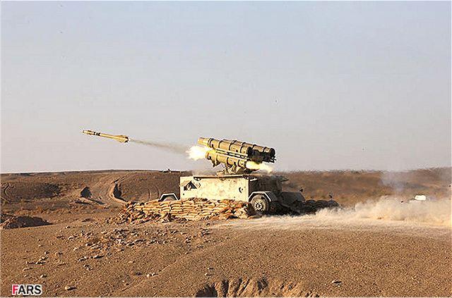 نظام الدفاع الجوي الإيراني: من صواريخ الهوك إلى الـ S-300   Shahab_Tagheb_Thaqeb_FM-80_short_range_air_defence_missile_system_Iran_Iranian_army_defence_industry_military_technology_640