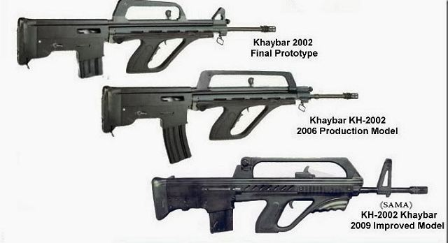 Iran presenta su nuevo fusil de asalto K-2002_Kyaybar_Khyber_5-56mm_bullpup_assault_rifle_Iran_Iranian_army_defense_industry_military_technology_001