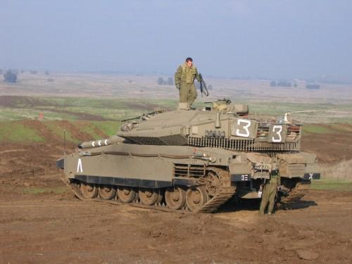 الصناعات الحربية الاسرائيلية Merkava_4_IV_main_battle_tank_Israeli_Army_Israel_008