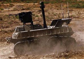 اول مركبة قتال غير مأهولة اسرائيلية (UGCV) Avantguard_g-nius_ugcv_unmanned_ground_combat_vehicle_Israel_Israeli_Army_left_side_view_001