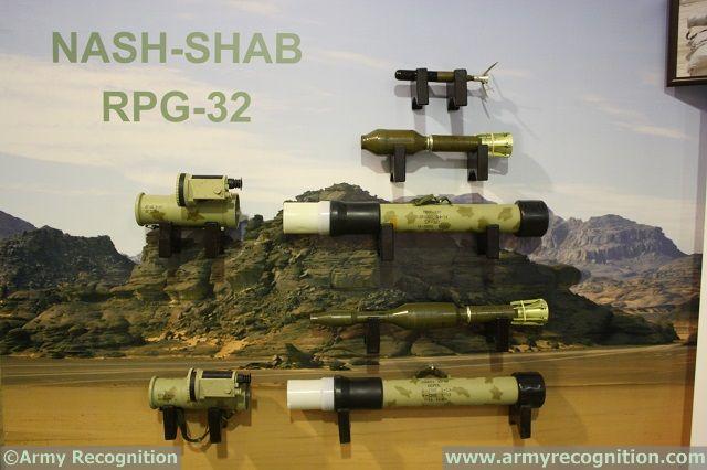 """قاذف RPG-32 """"Nash-shab المضاد للدروع  KADDB_RPG-32_SOFEX_2014_2"""