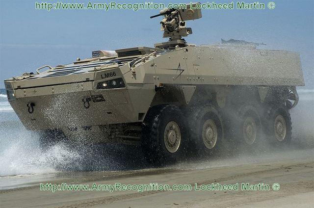 عملاق صناعة السلاح الأمريكية Lockheed Martin  Havoc_Lockheed_Martin_armoured_modular_vehicle_for_MPC_program_United_States_Marine_Corps_001
