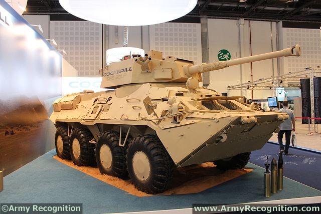 Cuba - Página 12 BTR-3E_Cockerill_CSE_90LP_turret_Belgian_Ukraine_defence_industry_at_IDEX_2013_defence_exhibition_UAE_001