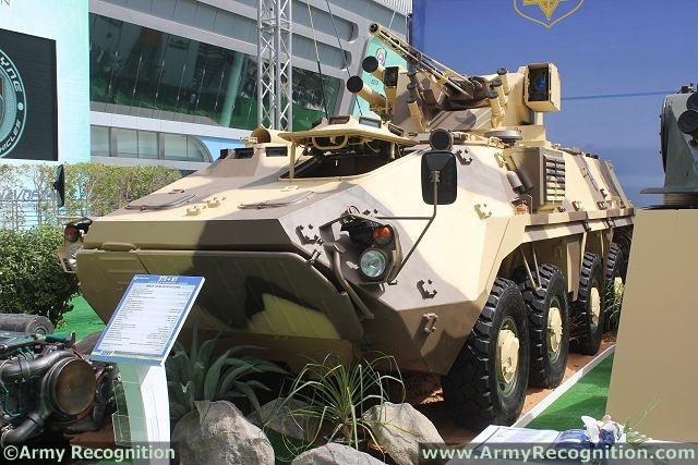 Abu Dhabi IDEX-NAVDEX 2013 BTR-4MV_APC_8x8_armoured_personnel_carrier_Ukraine_Ukrainian_defence_industry_IDEX_2013_002