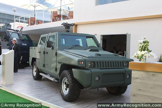 الجزائر عقد ل 100 مركبة جنوب إفريقية Marauder protected patrol Marauder_patrol_vehicle_Paramount_Group_South_Africa_defence_industry_IDEx_2013_001
