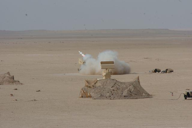 مصر تتعاقد على منظومة الدفاع الجوي  Skyguard من شركة Rheinmetall Defense - صفحة 3 Aspide_2000_MBDA_firing_test_from_Skyguard_air_defence_system_Kuwait_air_defence_brigade_640_001