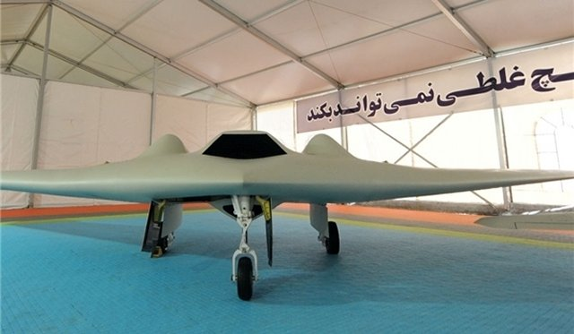 ايران تطلق نسخة مطورة من US spy Drone RQ-170 Iran_manufactured_an_improved_version_of_the_US_spy_Drone_RQ_170_640_001