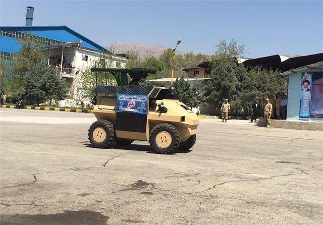 الروبوت نذير في خدمة الجيش الايرني   New_UGV_Unmanned_Ground_Vehicle_Robot_Nazeer_enters_in_service_with_Iranian_Armed_Forces_640_001