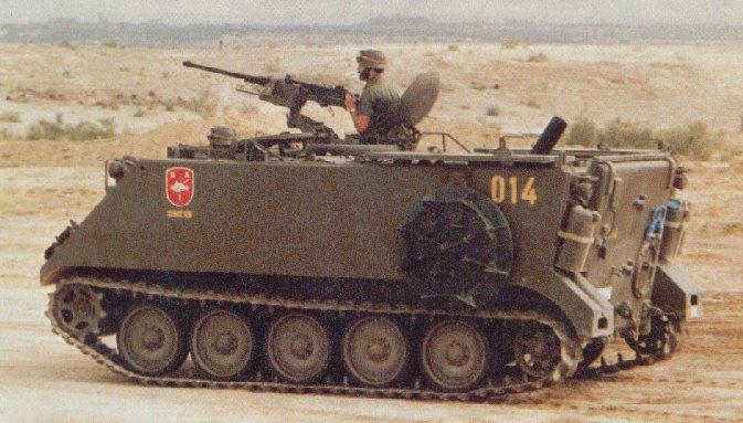 الجيش الملكي المغربي من الالف الى الياء M106_tracked_armoured_vehicle_mortar_carrier_US_Army_United_States_004