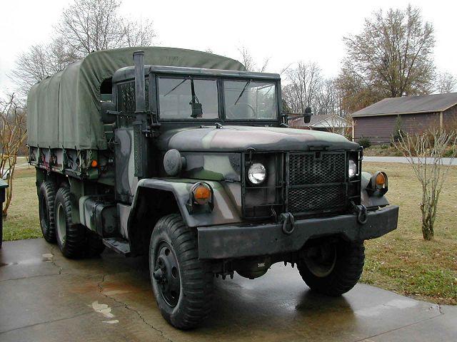 الجيش الملكي المغربي من الالف الى الياء M35_truck_AM_General_united_states_US-army_640