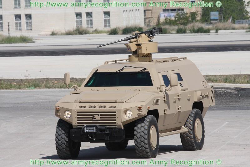 الصناعة العسكرية الجزائرية عربات Nimr(نمر)  Nimr_II_Trackfire_RWS_Sofex_2008_Army_Recognition_001