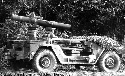 Danish TOW Vehicles M151a1_tow
