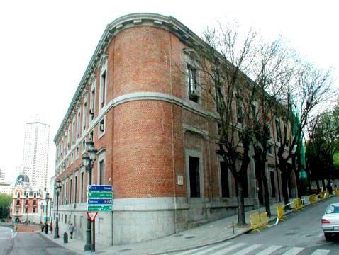 El Madrid de los Borbones (II): del Teatro Real a la estación de Príncipe Pío Palacio%20Marques%20de%20Grimaldi%20Espana