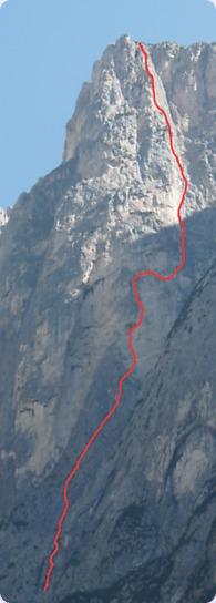 Dolomiti - Pale di San Lucano Via-collaborazione-monte