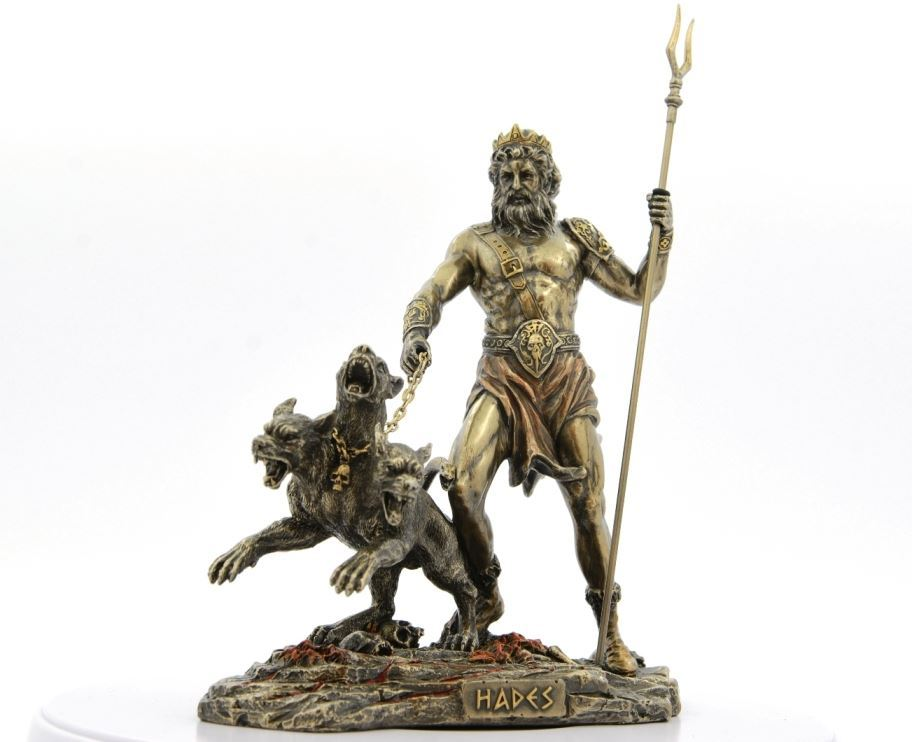 Plutone e Prosèrpina. 0001630_hades-plutone-dio-degli-inferi-h-25-statua-scultura-in-resina-bronzata