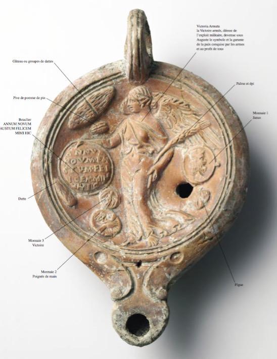 Les formules de nouvel an à Rome (numismatics inside) Lampe